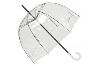 Jean Paul Gaultier Womens Umbrella Transparent