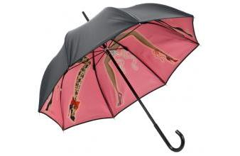 Chantal Thomass womens umbrella with cancan dancing ladies